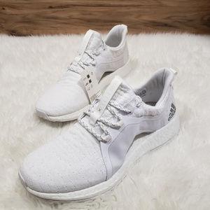 NWT Adidas Pureboost X White Running Sneakers